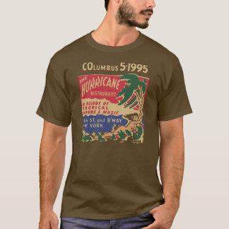 ハリケーン(前部および背部) Tシャツ