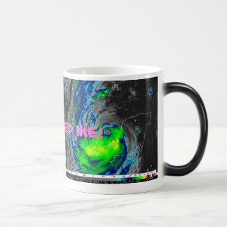 ハリケーンIKEのコーヒー マジックマグカップ
