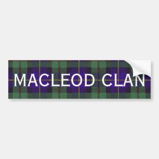 ハリスのスコットランド人のタータンチェックのMacleod バンパーステッカー