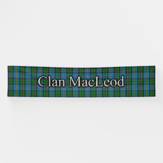ハリスのタータンチェックのスコットランド人のフェスティバルの一族MacLeod 横断幕