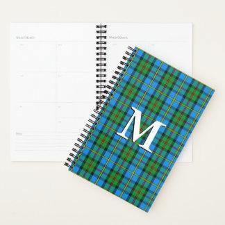 ハリスのタータンチェックの素晴らしいスコットランドの一族MacLeod プランナー手帳