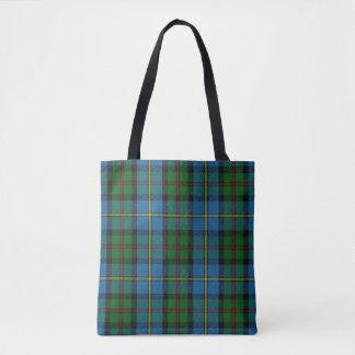 ハリスの青緑のタータンチェック格子縞の一族MacLeod トートバッグ