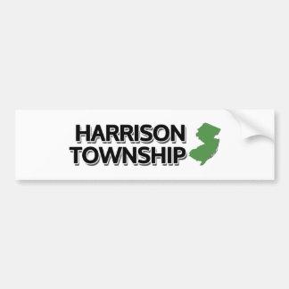 ハリスンの町区、ニュージャージー バンパーステッカー