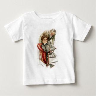ハリスンフィッシャーの中心の欲求の無慈悲な沈黙 ベビーTシャツ