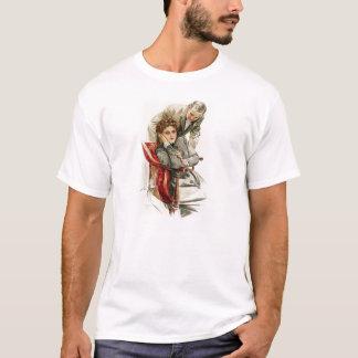ハリスンフィッシャーの中心の欲求の無慈悲な沈黙 Tシャツ