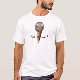 ハリネズミのアイスクリーム Tシャツ