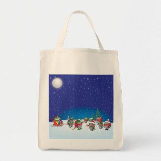 ハリネズミのクリスマスの魔法 トートバッグ