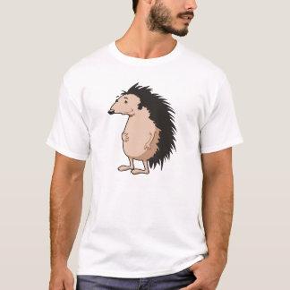 ハリネズミのスケッチが付いているTシャツ Tシャツ