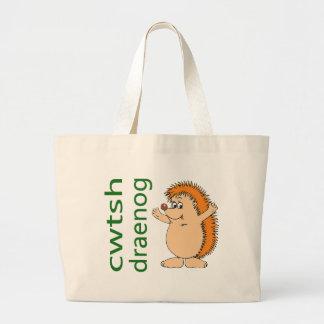 ハリネズミのバッグ ラージトートバッグ