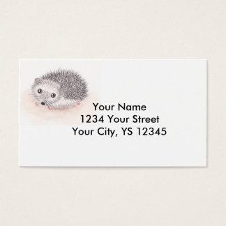 ハリネズミの名刺 名刺