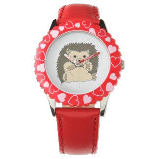 ハリネズミの腕時計 腕時計