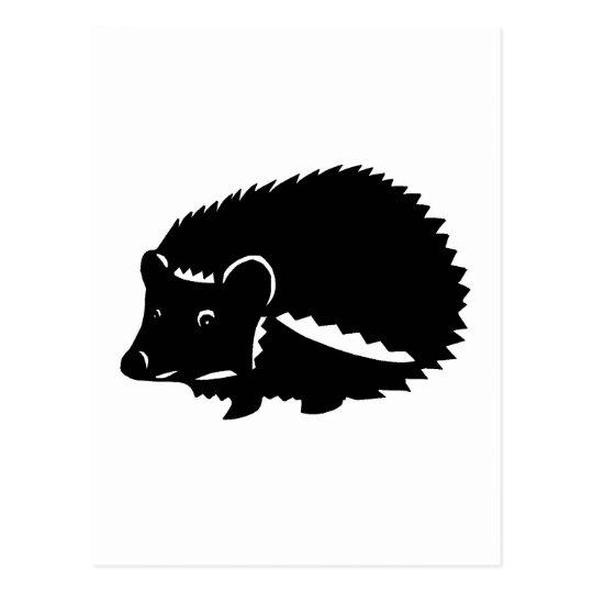 ハリネズミ グッズ hedgehog ポストカード