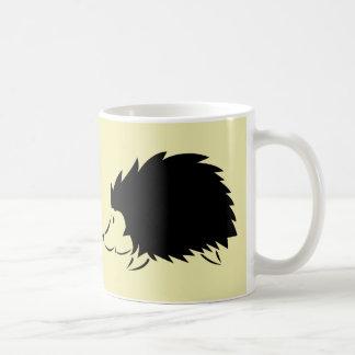ハリネズミ コーヒーマグカップ
