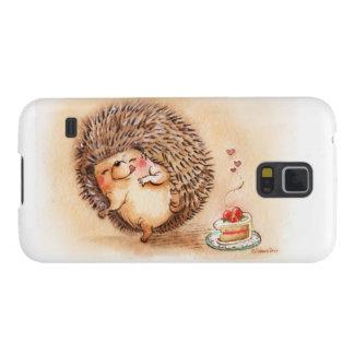 ハリネズミYum! Galaxy S5 ケース