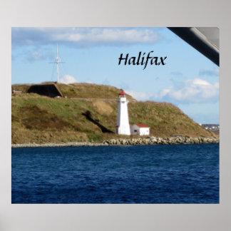 ハリファックスの灯台 ポスター