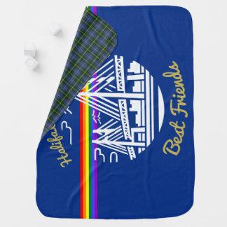 ハリファックスダートマスの親友のプライド毛布 ベビー ブランケット