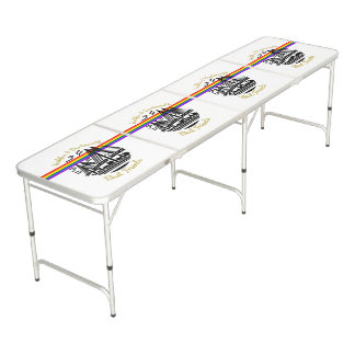 ハリファックスダートマスの親友の卓球台 ビアポンテーブル