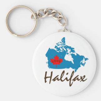 ハリファックスノバスコシアはカナダのkeychainをカスタマイズ キーホルダー