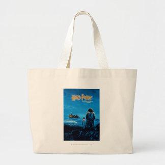 ハリーおよびHagridの国際的な映画のポスター ラージトートバッグ