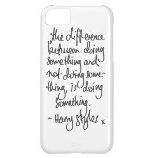 ハリーの引用文 iPhone5Cケース