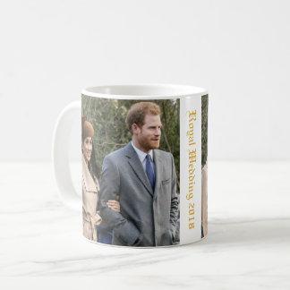 ハリー王子およびMeghan Markleの王室のな結婚式2018年 コーヒーマグカップ