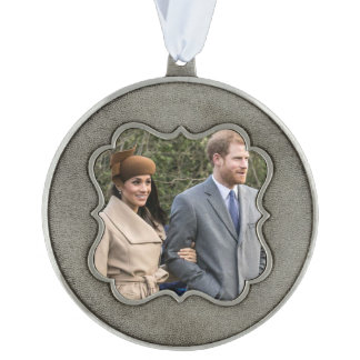 ハリー王子及びMeghan Markleの王室のな結婚式2018年 オーナメント