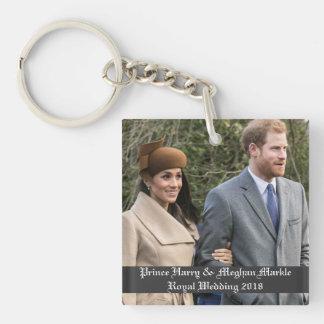 ハリー王子及びMeghan Markleの王室のな結婚式2018年 キーホルダー