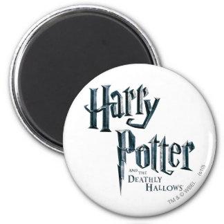 ハリー・ポッターシリーズおよび死んだようにロゴ3を神聖化します マグネット