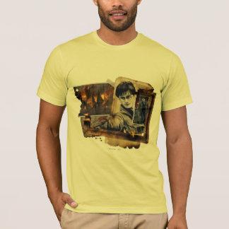 ハリー・ポッターシリーズのコラージュ7 Tシャツ