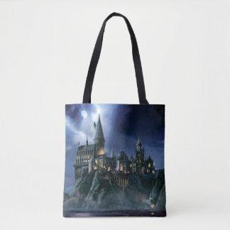 ハリー・ポッターシリーズの城|月明りのHogwarts トートバッグ