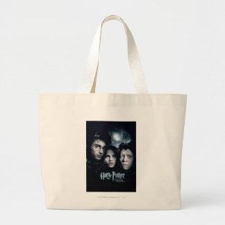 ハリー・ポッターシリーズの映画のポスター ラージトートバッグ