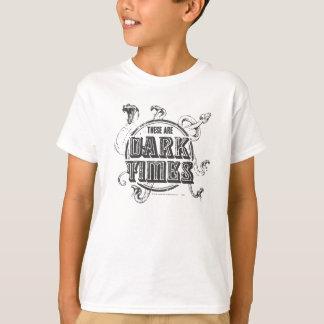 ハリー・ポッターシリーズの綴り|の暗闇の時間 Tシャツ