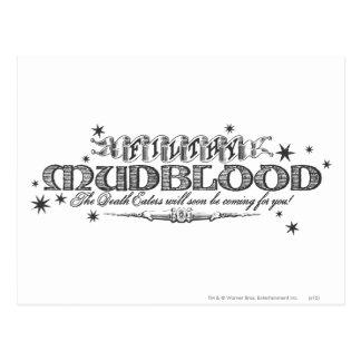 ハリー・ポッターシリーズの綴り|不潔なMudblood ポストカード
