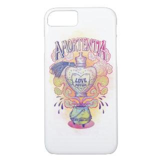 ハリー・ポッターシリーズの綴り  Amortentiaの惚れ薬のボトル iPhone 8/7ケース