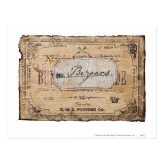 ハリー・ポッターシリーズの綴り| Bezoars ポストカード