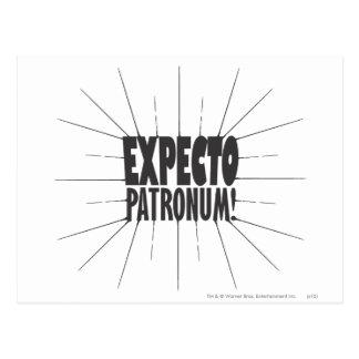 ハリー・ポッターシリーズの綴り| Expecto Patronum! ポストカード