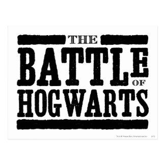 ハリー・ポッターシリーズの綴り| Hogwartsの戦い ポストカード