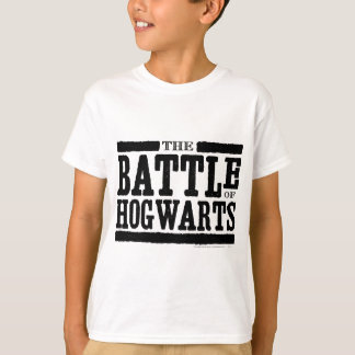 ハリー・ポッターシリーズの綴り| Hogwartsの戦い Tシャツ