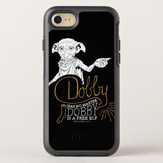 ハリー・ポッターシリーズ|のドビーはマスターを備えていません オッターボックスシンメトリーiPhone 8/7 ケース