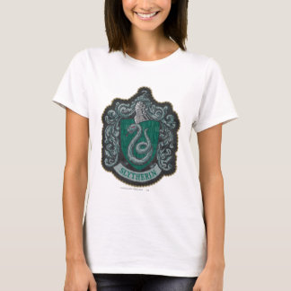 ハリー・ポッターシリーズ|レトロの強大なSlytherinの頂上 Tシャツ