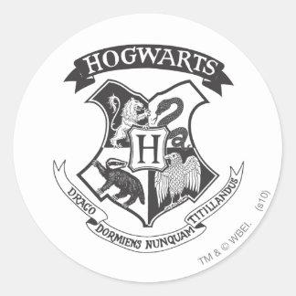 ハリー・ポッターシリーズ|レトロのHogwartsの頂上 ラウンドシール