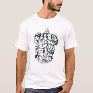ハリー・ポッターシリーズ| Gryffindorのステンシルスケッチ Tシャツ