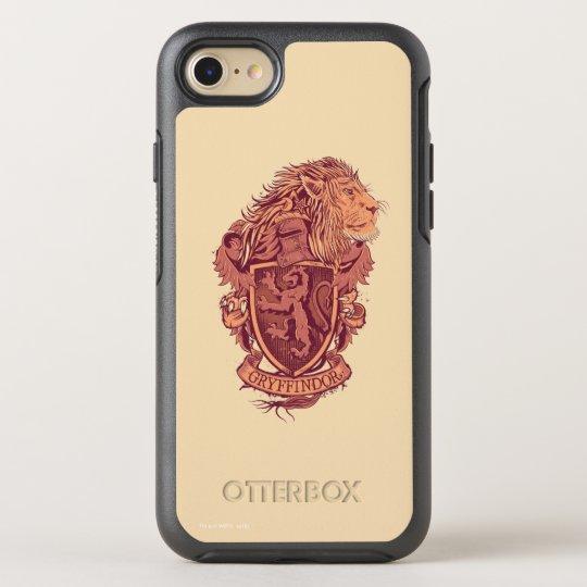 ハリー・ポッターシリーズ| Gryffindorのライオンの頂上 オッターボックスシンメトリーiPhone 8/7 ケース