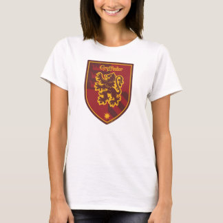 ハリー・ポッターシリーズ| Gryffindorの家のプライドの頂上 Tシャツ
