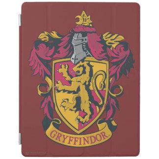 ハリー・ポッターシリーズ| Gryffindorの頂上の金ゴールドおよび赤 iPadスマートカバー
