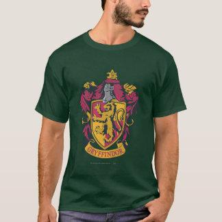 ハリー・ポッターシリーズ| Gryffindorの頂上の金ゴールドおよび赤 Tシャツ