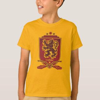 ハリー・ポッターシリーズ  Gryffindor Quidditchの頂上 Tシャツ