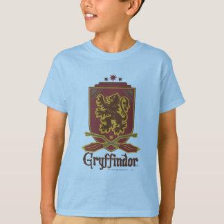 ハリー・ポッターシリーズ| Gryffindor QUIDDITCH™のバッジ Tシャツ