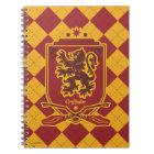 ハリー・ポッターシリーズ| Gryffindor QUIDDITCH™の頂上 ノートブック