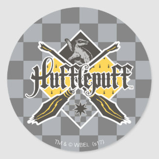 ハリー・ポッターシリーズ| Gryffindor QUIDDITCH™の頂上 ラウンドシール